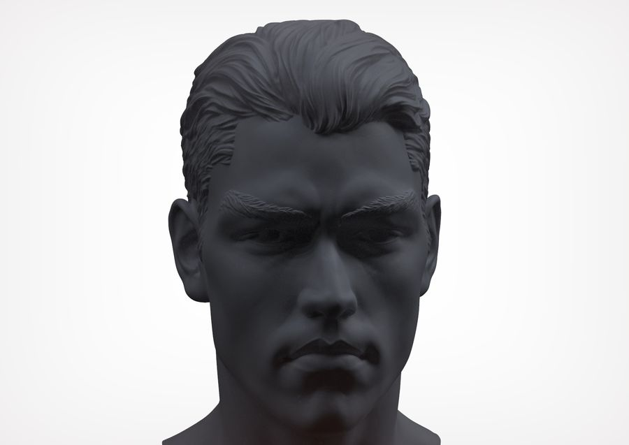Tyson  Bollou for printing royalty-free 3d model - Preview no. 2