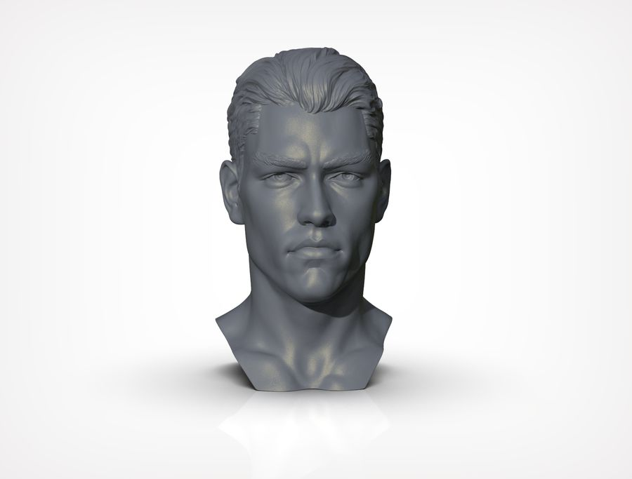 Tyson  Bollou for printing royalty-free 3d model - Preview no. 1