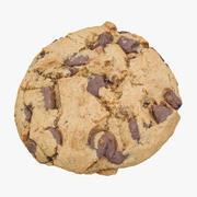 Cookie aux pépites de chocolat 02 3d model
