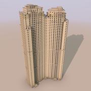 Dubai Marina - Jumeirah Beach Residence Sadaf 6 und 7 3d model