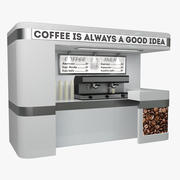 Coffee Sale Point 3d model