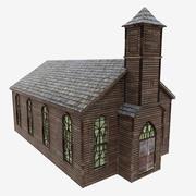 Kościół 3d model