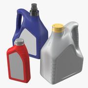 Bottiglie di olio motore per modelli 3D generici 3d model