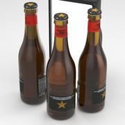 Ölflaska Estrella Damm Inedit 330ml 3d model