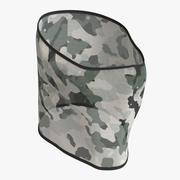Net maschera per il viso 3d model