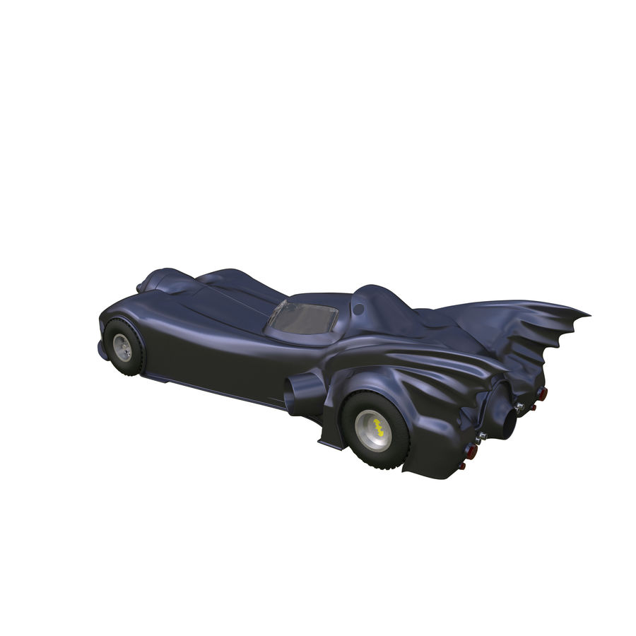 Futuristic car royalty-free 3d model - Preview no. 4