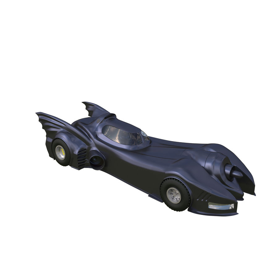 Futuristic car royalty-free 3d model - Preview no. 1