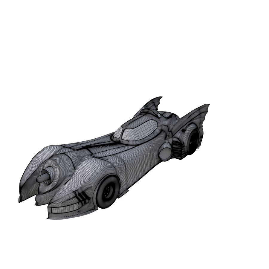 Futuristic car royalty-free 3d model - Preview no. 7