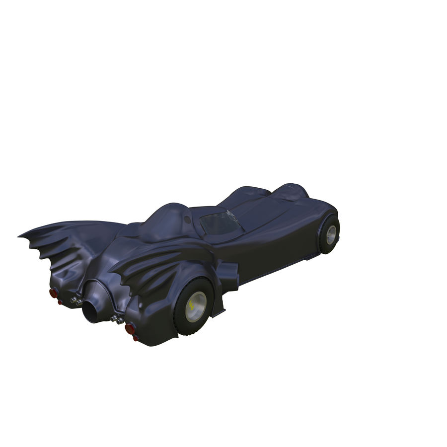 Futuristic car royalty-free 3d model - Preview no. 3
