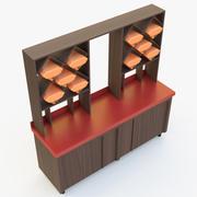 Винный шкаф 3d model
