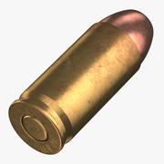 Bullet 40 SW Pose 3d model