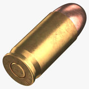 Bullet 45 mm Laying 3d model
