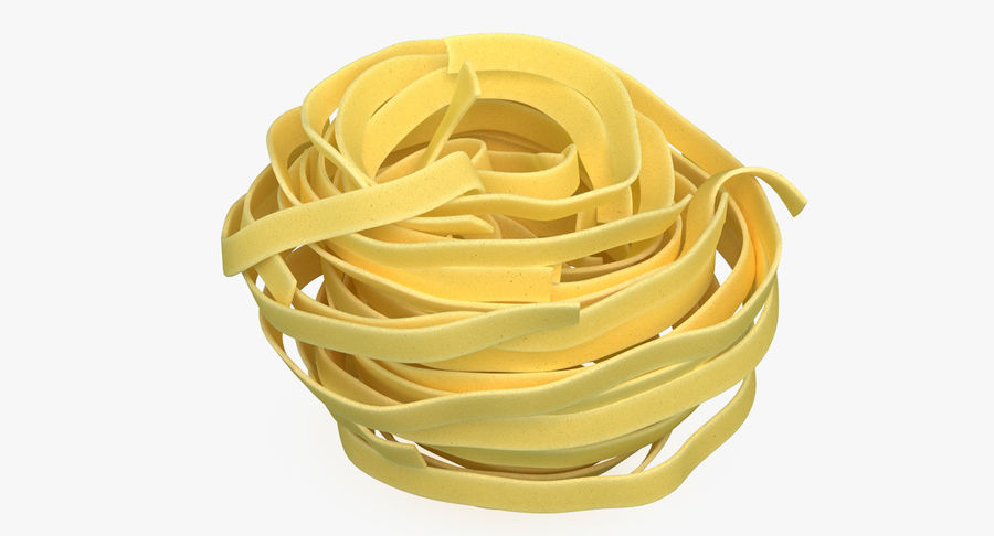 Spaghetti Nest royalty-free 3d model - Preview no. 2