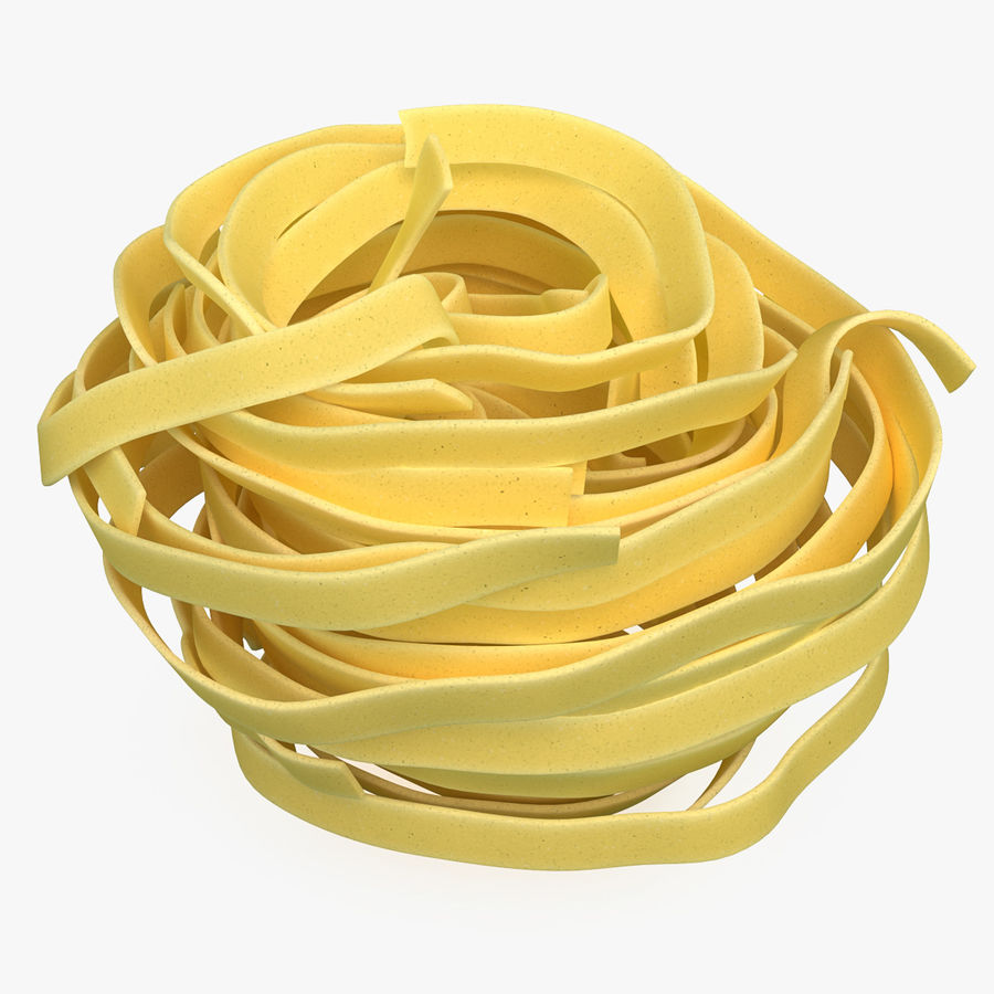 Spaghetti Nest royalty-free 3d model - Preview no. 1