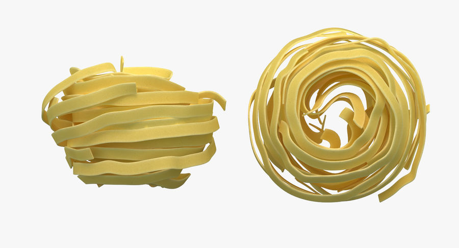 Spaghetti Nest royalty-free 3d model - Preview no. 5