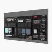 TVダッシュボード 3d model