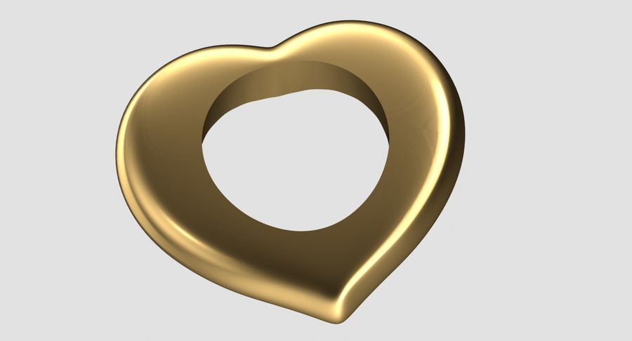 Heart.1 royalty-free 3d model - Preview no. 3