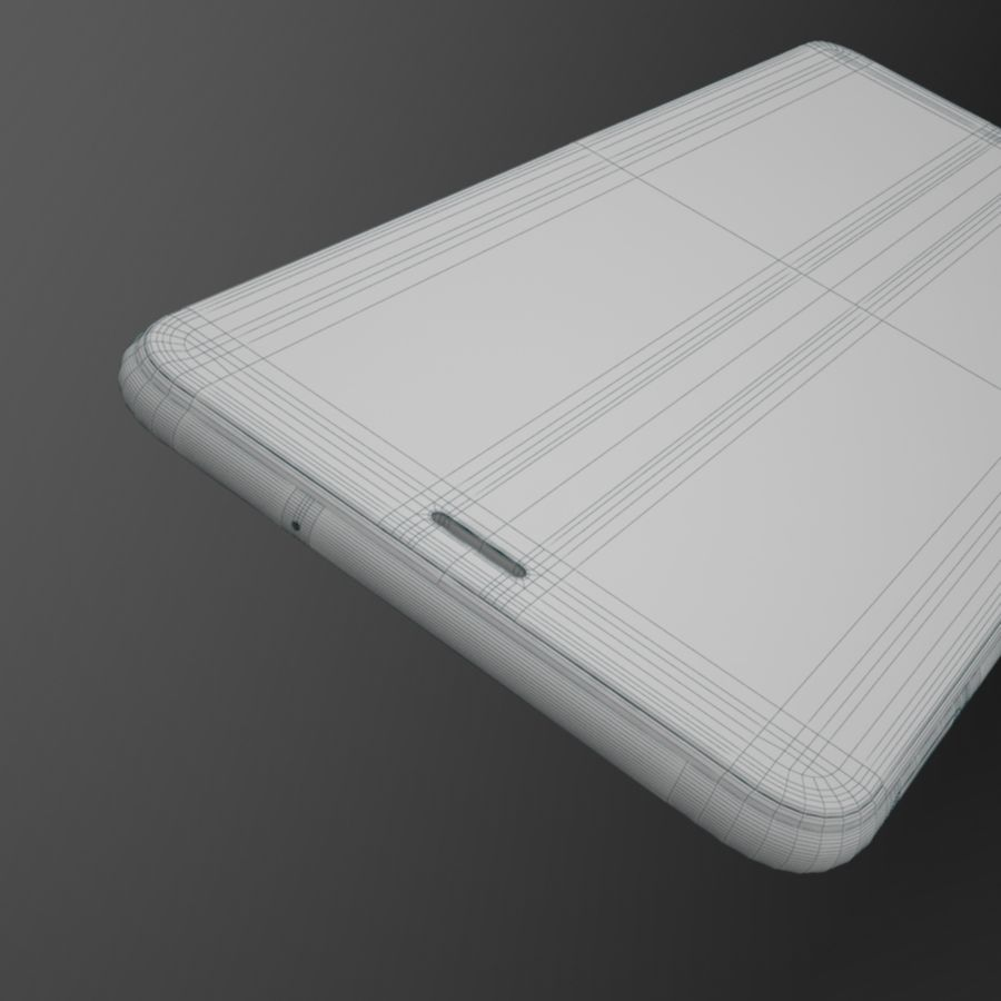 Samsung Galaxy A7 2018 royalty-free 3d model - Preview no. 16