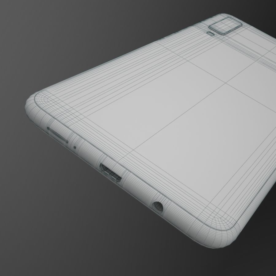 Samsung Galaxy A7 2018 royalty-free 3d model - Preview no. 14