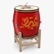 Kinesisk trumma 3d model