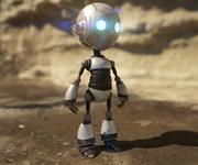 可爱的机器人 3d model