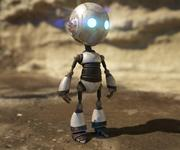 Słodki robot 3d model