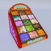 şekerler 3d model