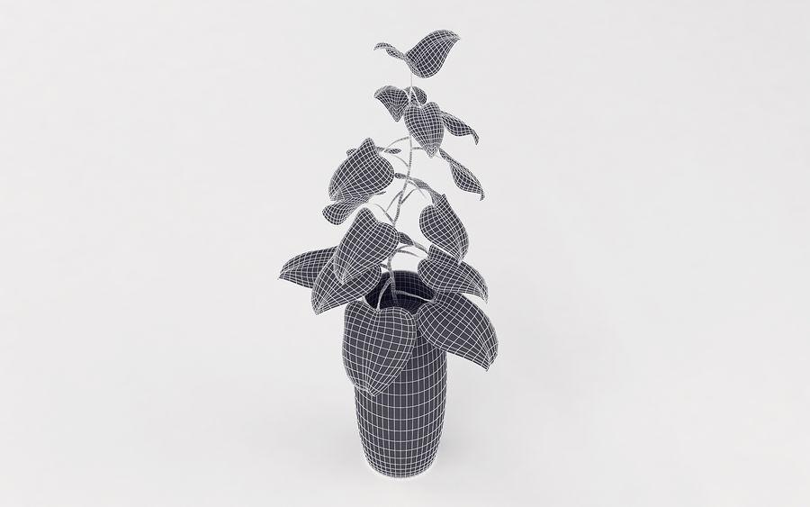 Plante en pot royalty-free 3d model - Preview no. 12