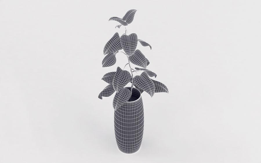 Plante en pot royalty-free 3d model - Preview no. 13