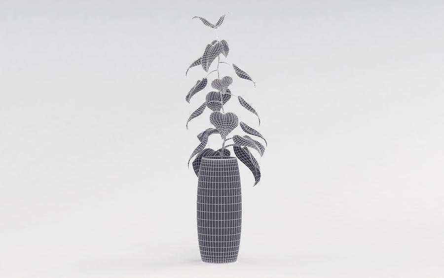 Plante en pot royalty-free 3d model - Preview no. 11