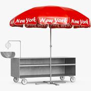 Outdoor Shop Umbrella 3d model