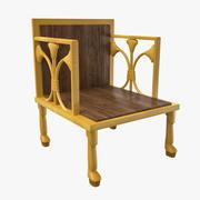 Ancient Egyptian Chair 3D Model 3d model