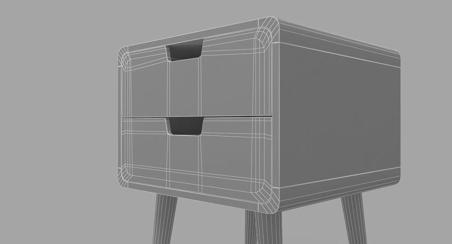 침대 탁자 08 royalty-free 3d model - Preview no. 11