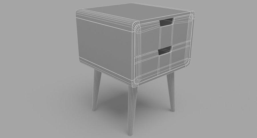침대 탁자 08 royalty-free 3d model - Preview no. 8