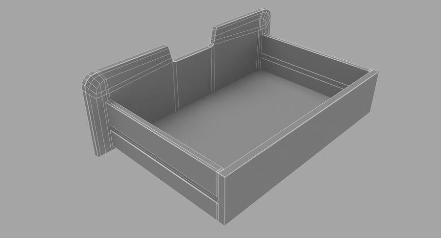 침대 탁자 08 royalty-free 3d model - Preview no. 12