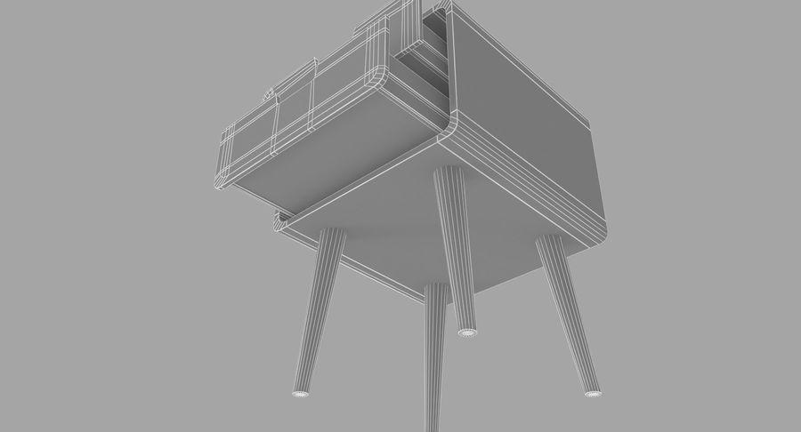 침대 탁자 08 royalty-free 3d model - Preview no. 10