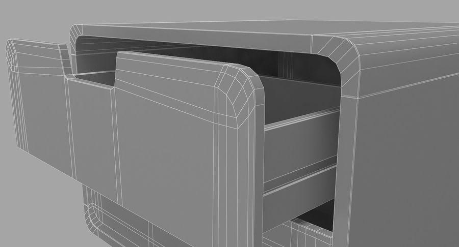 침대 탁자 08 royalty-free 3d model - Preview no. 7