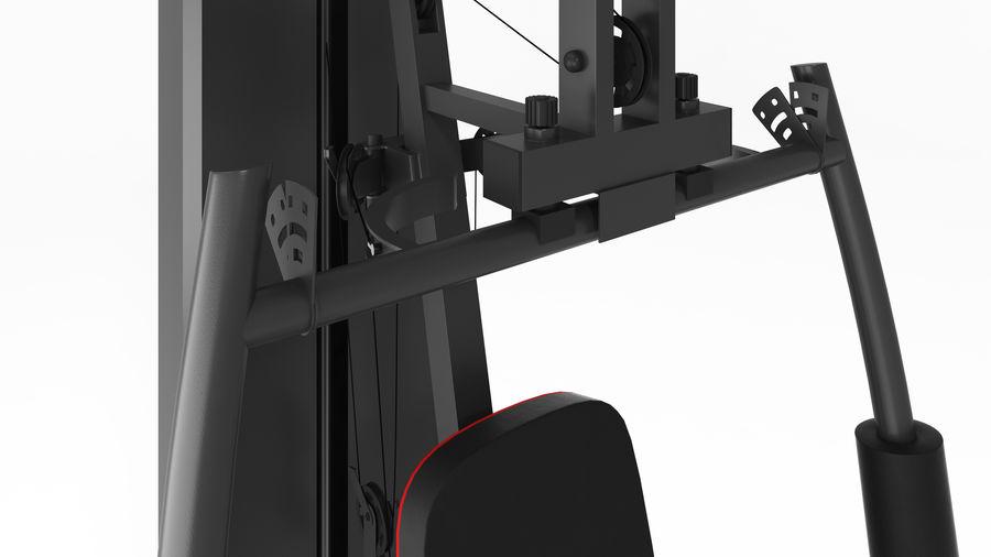 Wyposażenie siłowni royalty-free 3d model - Preview no. 14