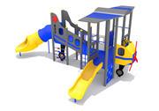 航空公司飞机游乐场 3d model