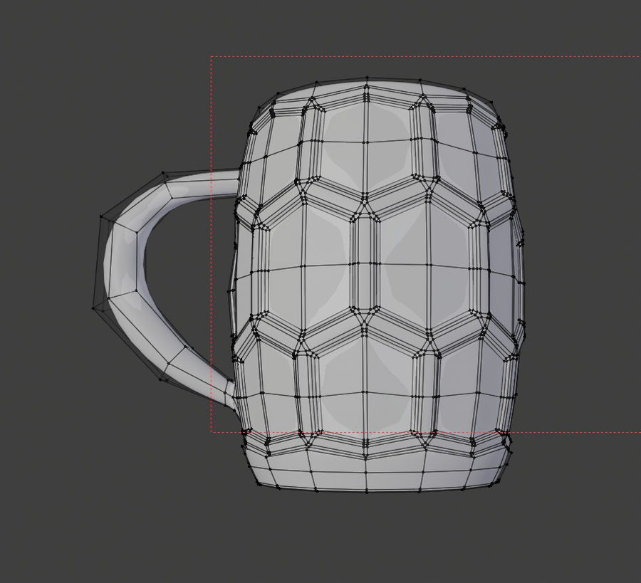 a glass of beer royalty-free 3d model - Preview no. 6