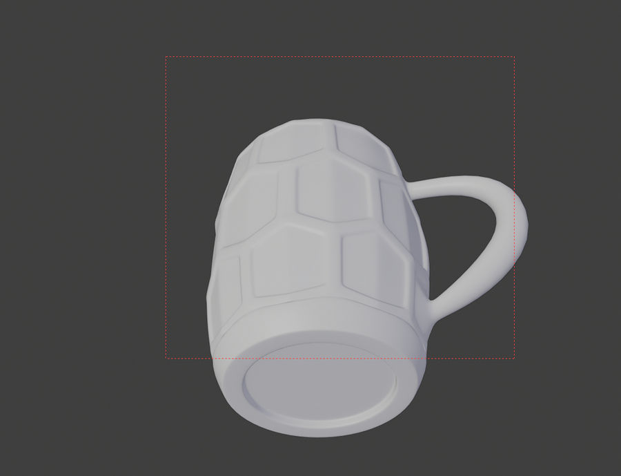 a glass of beer royalty-free 3d model - Preview no. 5