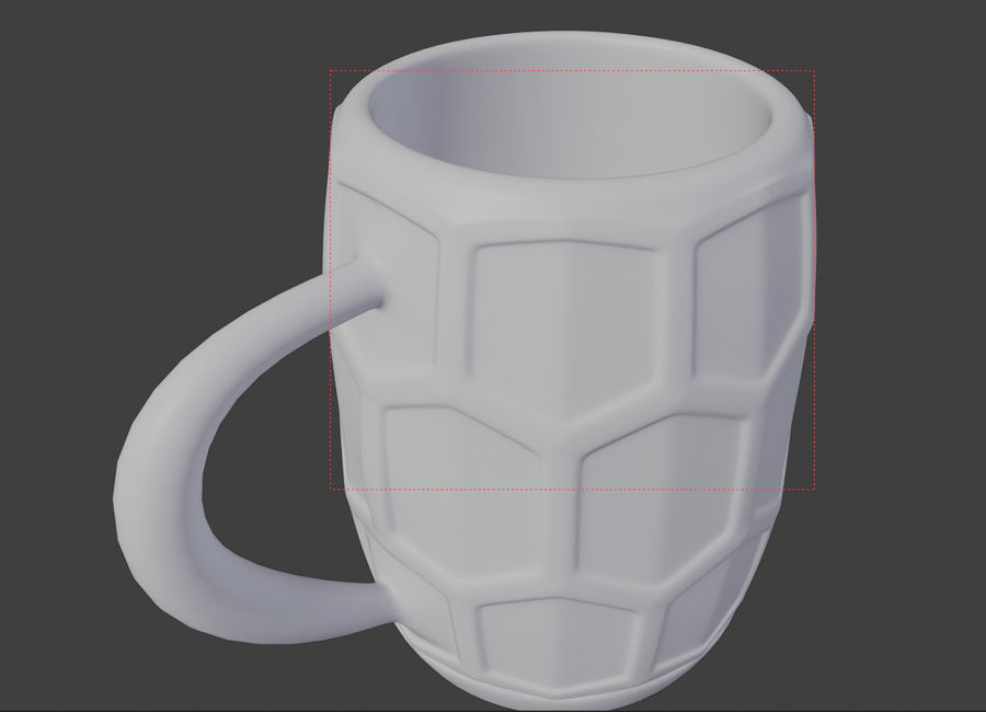 a glass of beer royalty-free 3d model - Preview no. 4