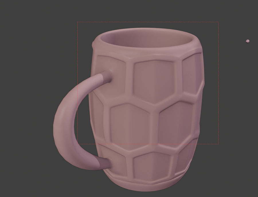 a glass of beer royalty-free 3d model - Preview no. 7