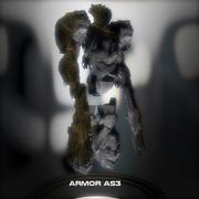 Armor AS3 - Sci Fi 3d model