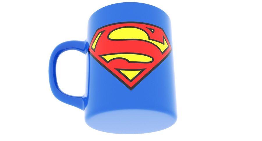 Super Man Mug et LEGO royalty-free 3d model - Preview no. 24