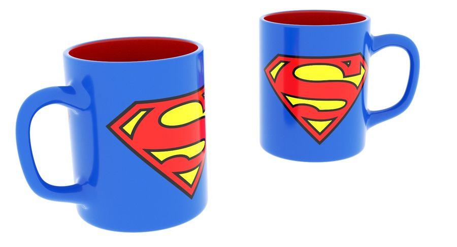 Super Man Mug et LEGO royalty-free 3d model - Preview no. 21