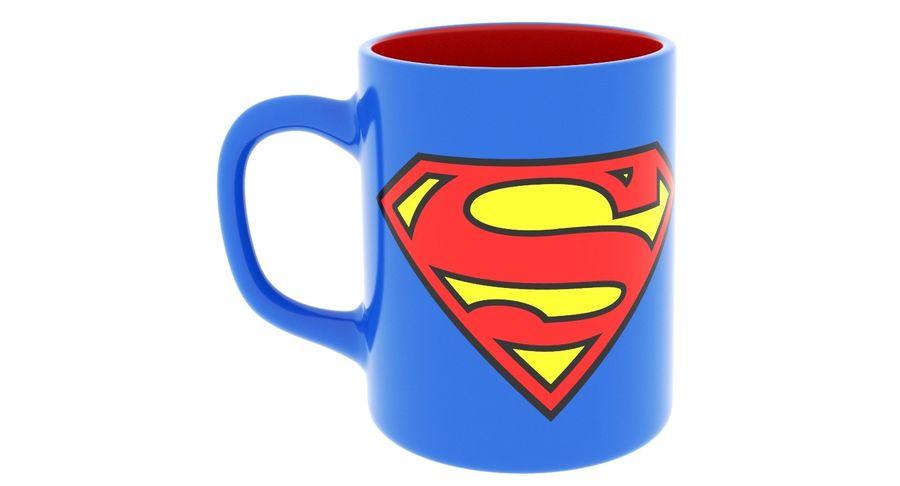 Super Man Mug et LEGO royalty-free 3d model - Preview no. 20