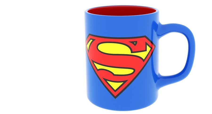 Super Man Mug et LEGO royalty-free 3d model - Preview no. 22