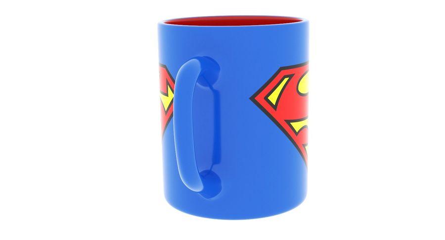 Super Man Mug et LEGO royalty-free 3d model - Preview no. 23
