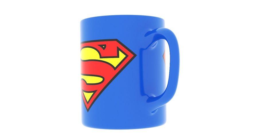 Super Man Mug et LEGO royalty-free 3d model - Preview no. 25